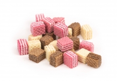 Cubed Mini Wafer Biscuits